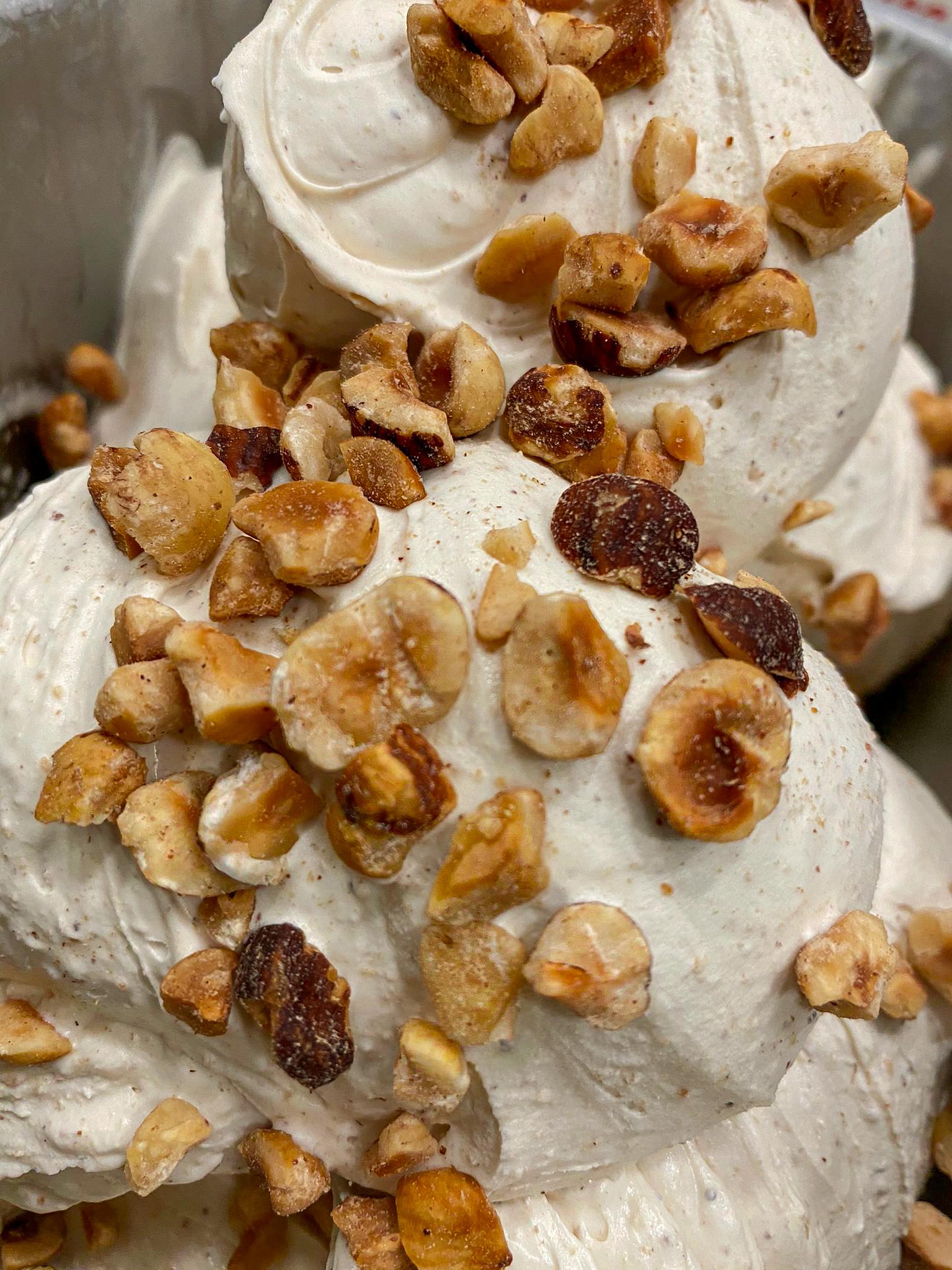 L'ingrediente star del gelato italiano. Con la nocciola di Corchiano il sapore diventa sublime.